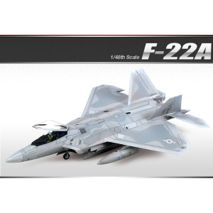 [ACA12212] 1/48 F-22A AIR DOMINANCE FIGHTER RAPTOR 랩터