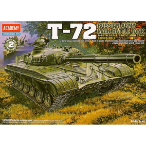 [ACA13006] 1/48 RUSSIAN ARMY BATTLE TANK T-72
