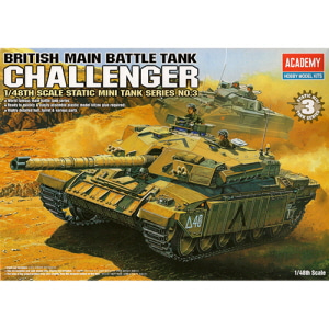 [ACA13007] 1/48 BRITISH MAIN BATTLE TANK