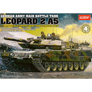 [ACA13008] 1/48 GERMAN ARMY MAIN BATTLE TANK LEOPARD 2 A5 레오파드