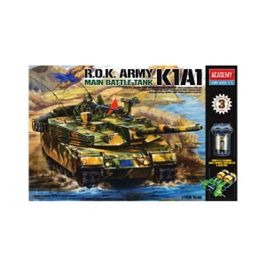 [ACA13222] 1/35 R.O.K ARMY MAIN BATTLE TANK K1A1 대한민국육군 모터용