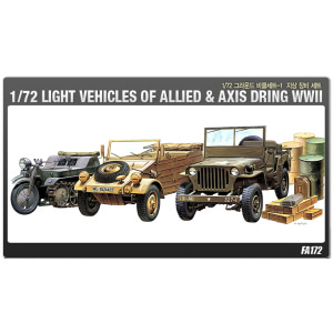 [ACA13416] 1/72 LIGHT VEHICLES OF ALLIED & AXIS DURING WW II